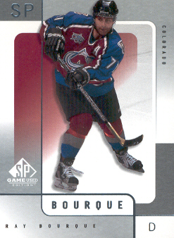 2000-01 SP Game Used #16 Ray Bourque