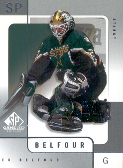 2000-01 SP Game Used #20 Ed Belfour