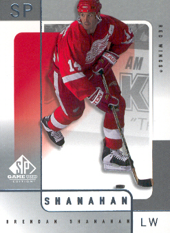 2000-01 SP Game Used #22 Brendan Shanahan