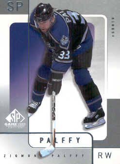 2000-01 SP Game Used #30 Zigmund Palffy