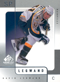2000-01 SP Game Used #35 David Legwand