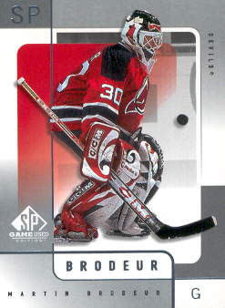 2000-01 SP Game Used #36 Martin Brodeur