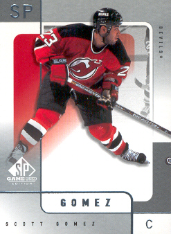 2000-01 SP Game Used #37 Scott Gomez