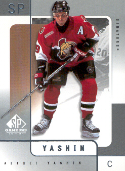 2000-01 SP Game Used #43 Alexei Yashin