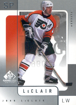 2000-01 SP Game Used #45 John LeClair
