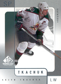 2000-01 SP Game Used #47 Keith Tkachuk
