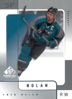 2000-01 SP Game Used #51 Owen Nolan