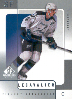 2000-01 SP Game Used #54 Vincent Lecavalier
