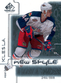2000-01 SP Game Used #66 Rostislav Klesla RC