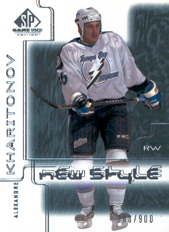 2000-01 SP Game Used #83 Alexander Kharitonov RC