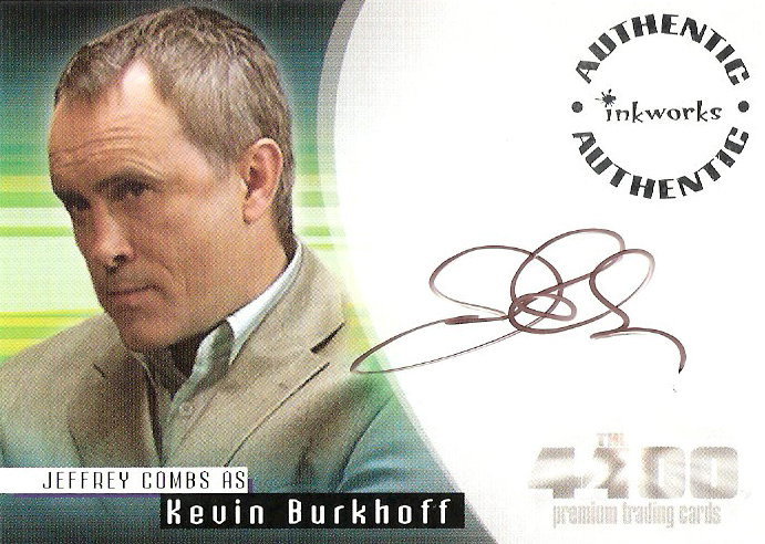 2007 The 4400 Season Two Autographs #A17 Jeffrey Combs