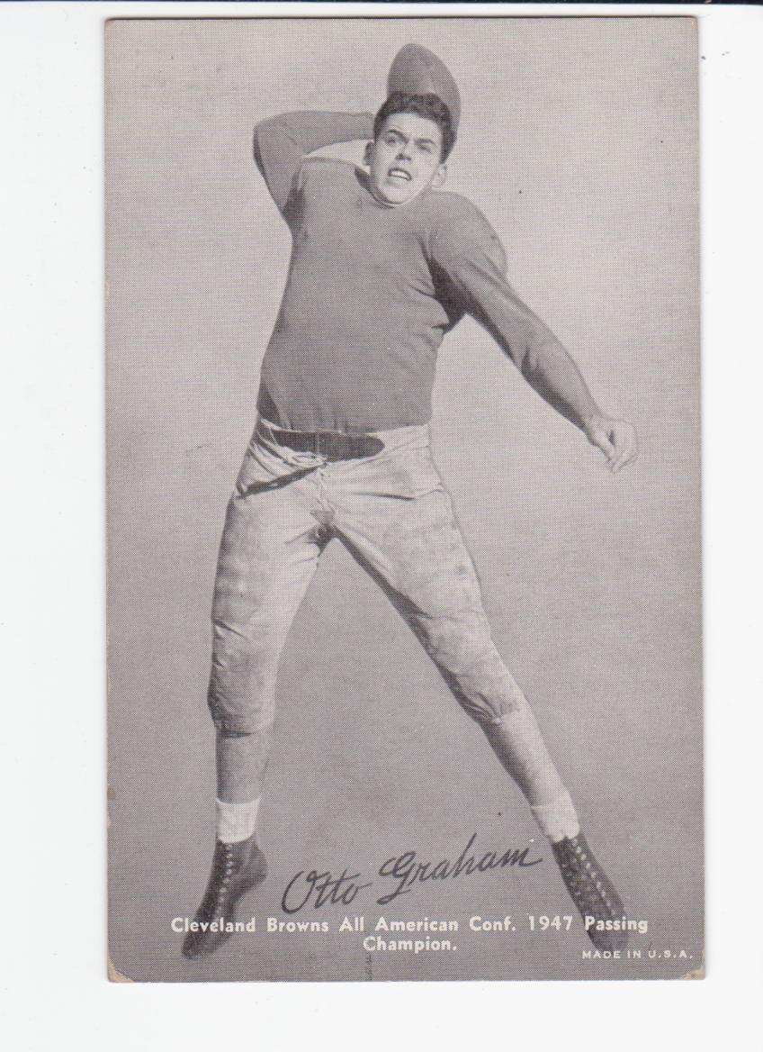 1948-49 Exhibits Sports Champions #FB4 Otto Graham front image
