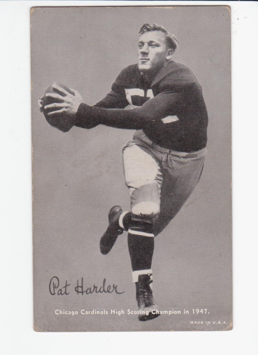 1948-49 Exhibits Sports Champions #FB5 Pat Harder front image