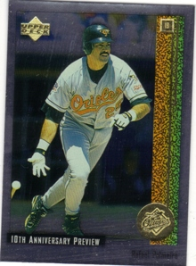 1998 Upper Deck 10th Anniversary Preview #19 Rafael Palmeiro