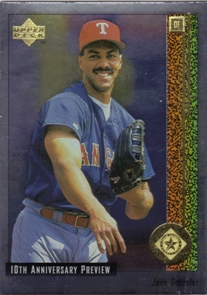 1998 Upper Deck 10th Anniversary Preview #49 Juan Gonzalez