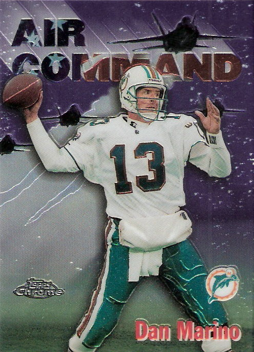 1997 Topps Chrome Career Best #1 Dan Marino