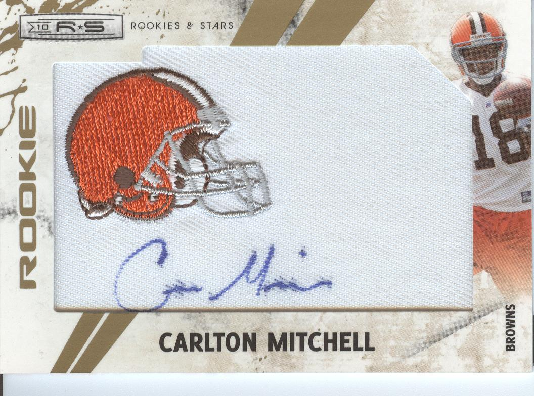 2010 Rookies and Stars #261 Carlton Mitchell AU/299 RC