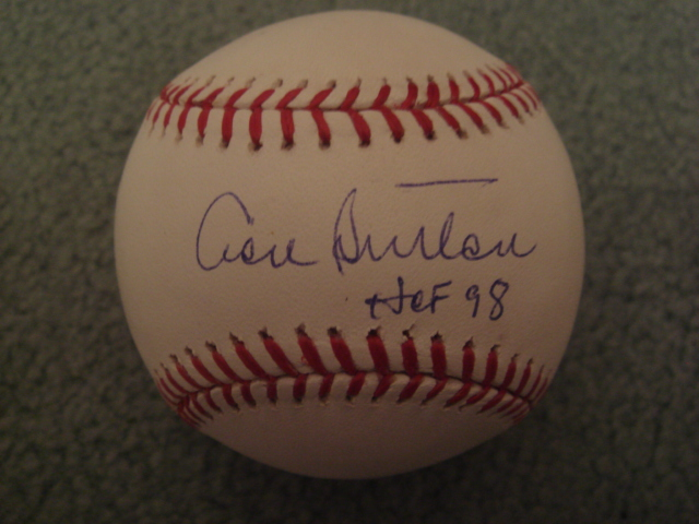 Don Sutton Autographed Official MLB Baseball with MLB COA Hologram