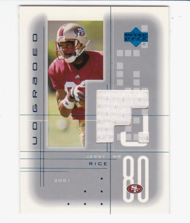 2001 UD Graded Jerseys #JR Jerry Rice