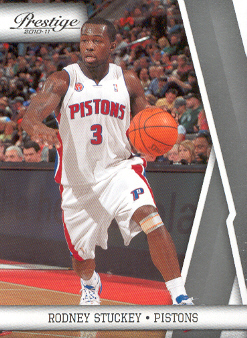 2010-11 Prestige #31 Rodney Stuckey