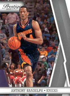 2010-11 Prestige #34 Anthony Randolph