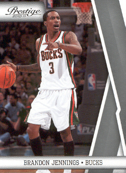 2010-11 Prestige #62 Brandon Jennings