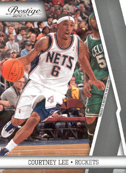 2010-11 Prestige #70 Courtney Lee