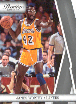 2010-11 Prestige #131 James Worthy