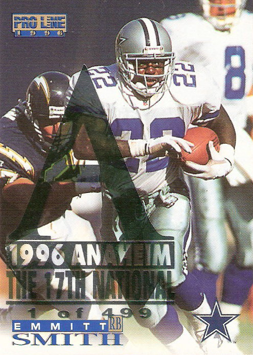 1996 Pro Line National #40 Emmitt Smith