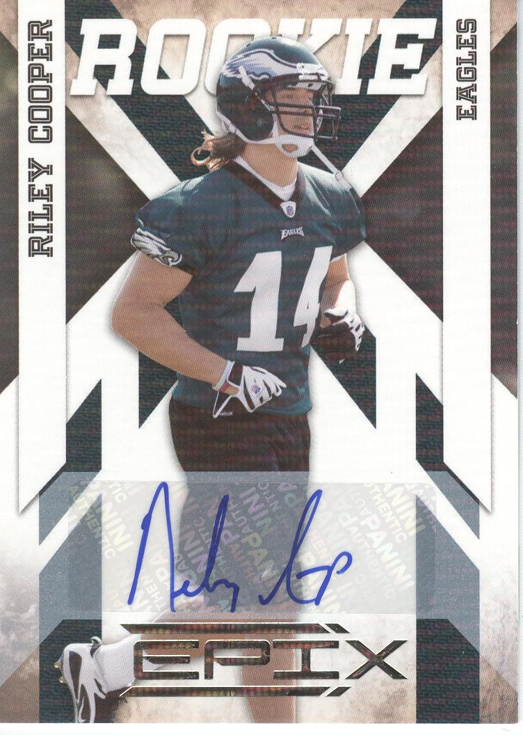 2010 Epix Signatures #180 Riley Cooper/499