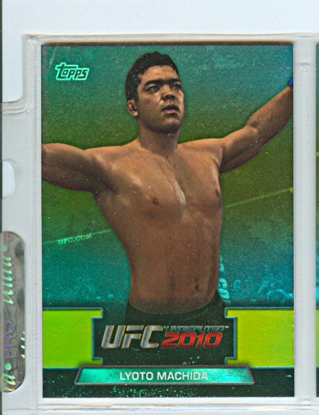 2010 Topps UFC Greats of the Game #GTG15 Lyoto Machida