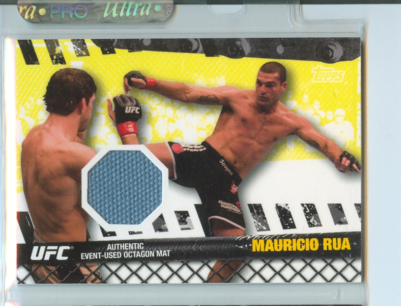 2010 Topps UFC Fight Mat Relics #FMMR Mauricio Rua/UFC 76