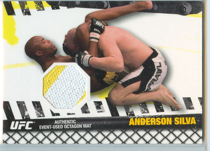 2010 Topps UFC Fight Mat Relics #FMASI Anderson Silva/UFC 67