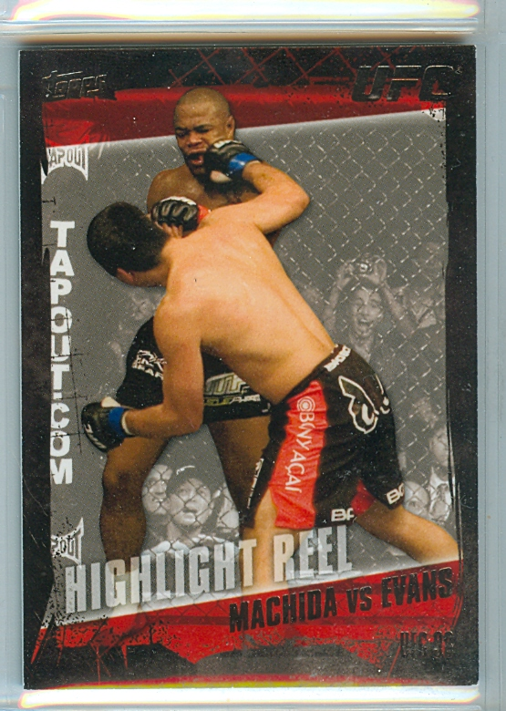 2010 Topps UFC Silver #187 Lyoto Machida/Rashad Evans