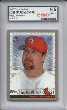 2000 Topps Limited #236C M.McGwire MM 62nd HR