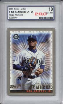 2000 Topps Limited #475C K.Griffey Jr. MM HR Dad