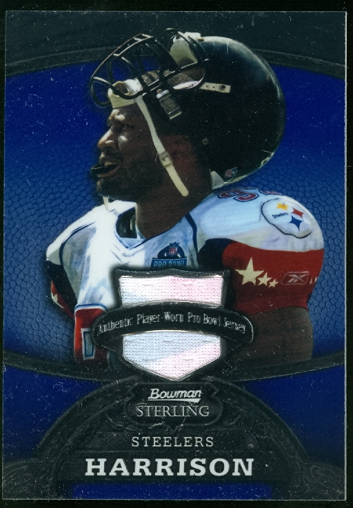 2008 Bowman Sterling Jerseys Blue #97 James Harrison