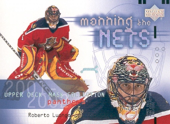 2001-02 UD Mask Collection #113 Roberto Luongo MTN