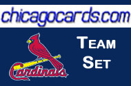 2010 Topps Chrome St Louis Cardinals 8-card Team Set RC Bryan Anderson Jon Jay Allen Craig