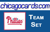 2010 Philadelphia Phillies Topps Chrome 10-Card Team Set Utley Halladay Hamels Howard