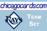 2010 Topps Chrome Tampa Bay Rays 8-card Team Set RC Wade Davis