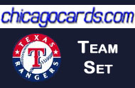 2010 Topps Chrome Texas Rangers 6-Card Team Set Josh Hamilton Michael Young Ian Kinsler Guerrero