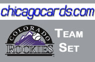 2010 Topps Chrome Colorado Rockies 8-Card Team Set RC Eric Young, Jr. Esmil Rogers