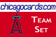 2010 Topps Chrome Los Angeles Angels 10-Card Team Set Matsui