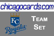 2010 KC Royals Topps Chrome 4-Card Team Set Kila Ka'Aihue RC