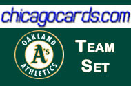 2010 Oakland Athletics Topps Chrome 2-card Team Set Donaldson Ross RC