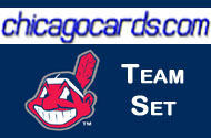 2010 Topps Chrome Cleveland Indians 4-Card Team Set RC Donald Santana Sizemore