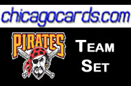 2010 Topps Chrome Pittsburgh Pirates 4-Card Team Set RC McCuthen RC