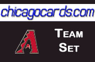 2010 Topps Chrome Arizona Diamondbacks 8-card Team Set RC Gillespie Valedz Upton
