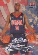 2004 Fleer USA #NNO LeBron James